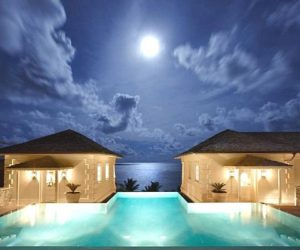 The luxurious Sunrise House villa in the Caribbean