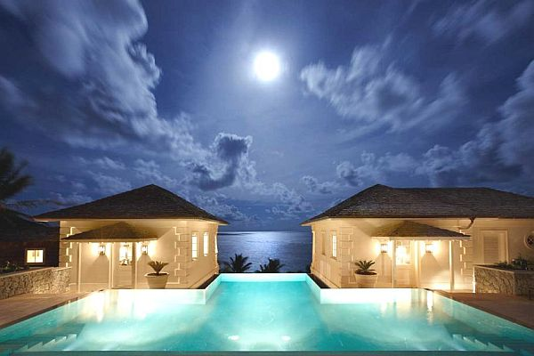 The Luxurious Sunrise House Villa In Caribbean