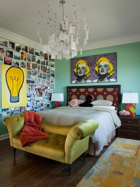 Marylin Monroe Themed Hotel Room  View in gallery
