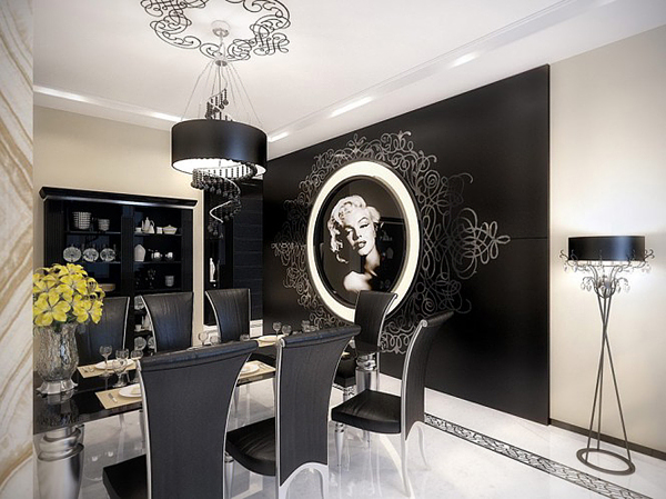 View in gallery. Marilyn Monroe interior design ideas for lovers