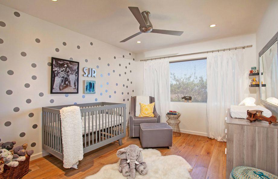 Neutral nursery room
