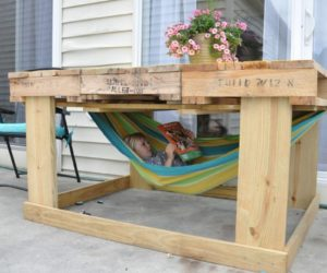 outdoor cute kids furniture made of wooden pallets - Garden Furniture Using Pallets