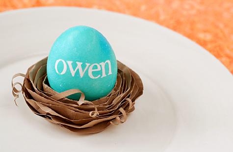 Owen egg holder