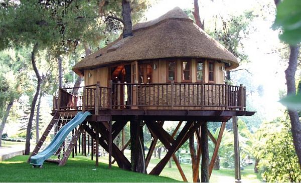 Gadget Tree House In Greece