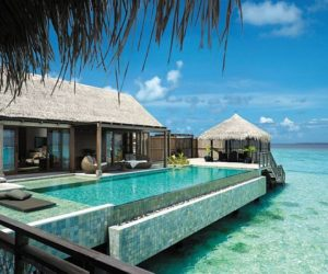 Breathtaking Shangri-La's Villingili Resort and Spa in Maldives