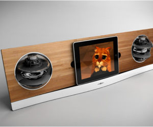 Icarta Ipod Dock And Toilet Roll Dispenser - Icarta-ipod-dock-and-toilet-roll-dispenser