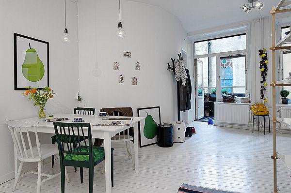 Challenging 50 square meter apartment with nordic interior for Design apartment 50m2