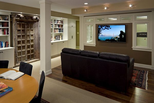 How to renovate the basement and turn it into a friendly space for How to turn a basement into a room