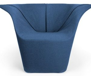 The Garment lounge chair by Benjamin Hubert