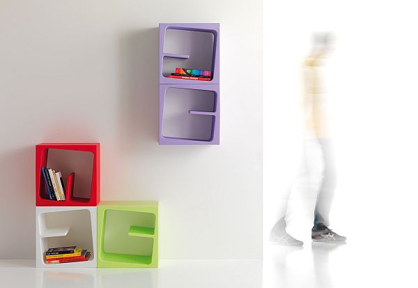 The Quby Storage Unit By Stefan Bench