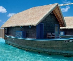 Luxury Boat hotel at Cocoa Island Resort in Maldives