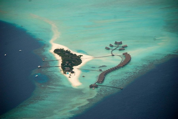 Luxury boat hotel at cocoa island resort in maldives view in gallery sciox Gallery