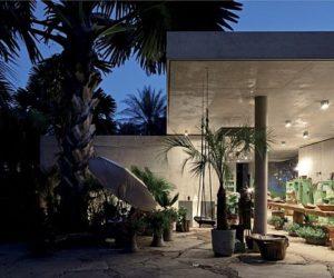 Green Botanical Shop Design in Brasil