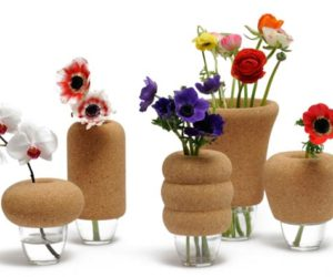The Cantine flower vase collection by Véronique Maire