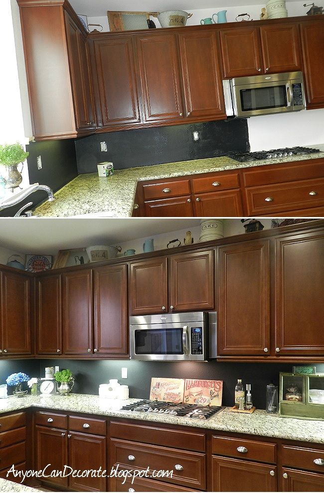 Top 48 DIY Kitchen Backsplash Ideas Cool Chalkboard Paint Backsplash