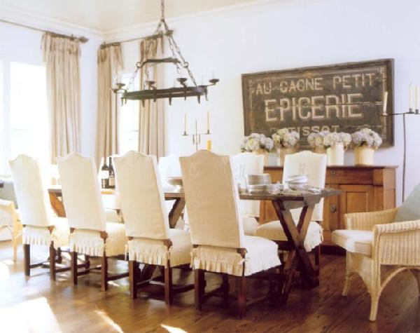 round back dining room chair covers. View In Gallery 11 Chair Covers That Can Transform Your Dining Room