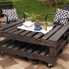 turning pallets into furniture. top 11 ways of turning pallets into furniture for outdoor homedit