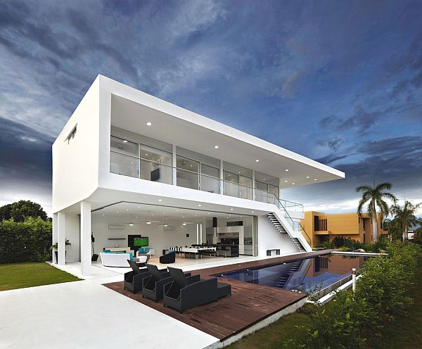 Two Storey Contemporary Home In Colombia