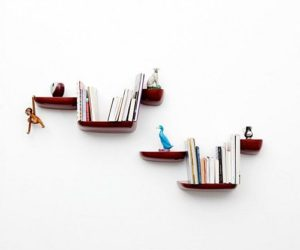 The Corniche shelves by Ronan & Erwan Bouroullec