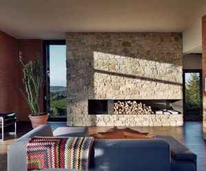 Contemporary country house in Val Tidone, Italy