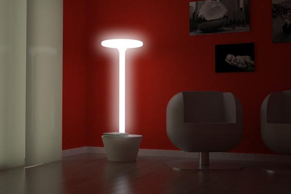 The minimalist Daiana floor lamp by SoupStudio