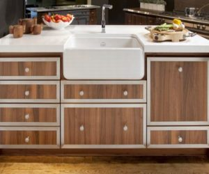 Great How To Design A Kitchen With Oak Cabinetry · Mémoire Wood Cabinetry From La  Cornue Nice Look