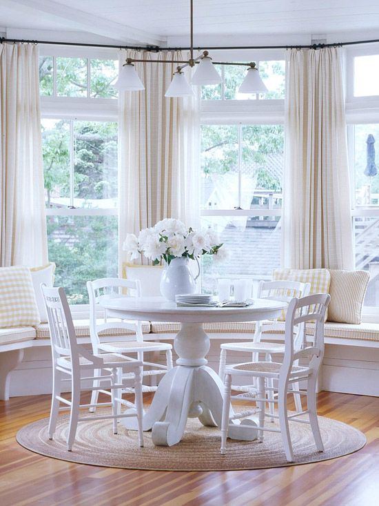 Ways To Decorate Your Bay Window - Bay window kitchen