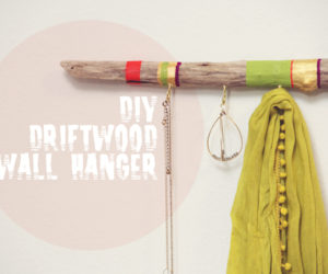 Creative driftwood hanger, another original DIY project