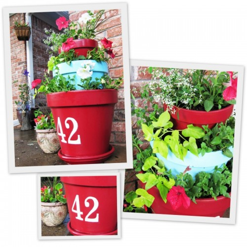 Plastic Outdoor Planters Top 30 planters diy and recycled tiered outdoor planters workwithnaturefo