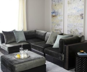 The classical Doyle sectional sofa