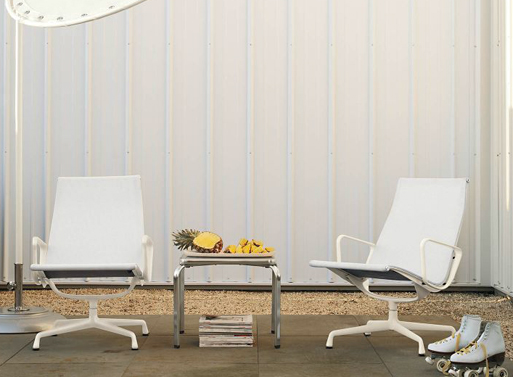 Aluminum Lounge Chair For Outdoor By Herman Miller