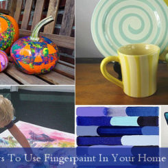 5 Ways To Use Fingerpaint In Your Home Decor