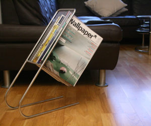 The Float magazine rack