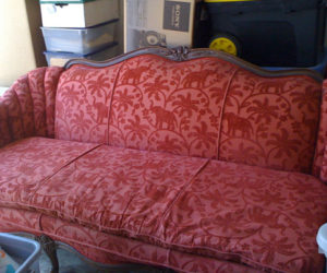 Delightful Remaking A Vintage Couch