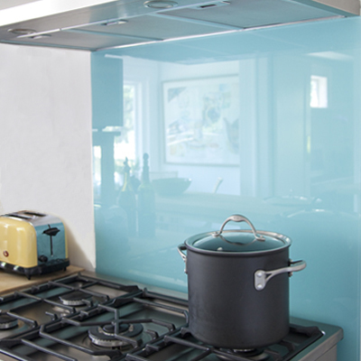 Beautiful Paint Glass For Kitchen Backsplash.