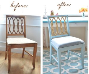 DIY Painted Doormat · How To Revive An Old Chair Using Paint