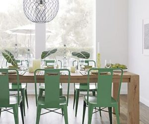 ming green side chair - Barcelona Home Trends And Designs