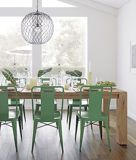 Ming Green Side Chair