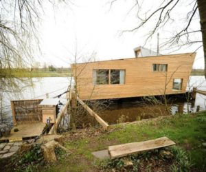Small home on water by Confused-Direction Design