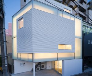 Compact residence in Tokyo by Yoritaka Hayashi Architects