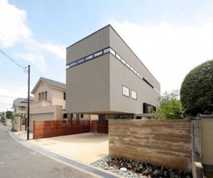 Eight-storey residence in Senri