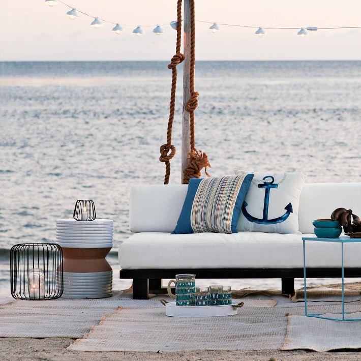 Outdoor Anchor Pillow, Outdoor Anchor Pillow