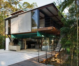 Modern and stylish summer house in Brazil