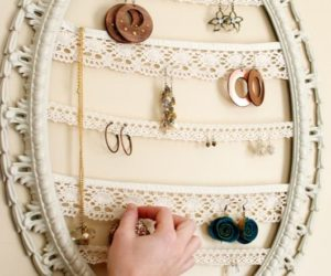 Original Jewelry Organizers You Can Make Yourself