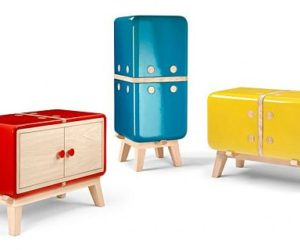 The playful Keramos furniture collection by Coprodotto