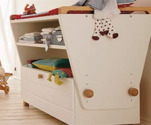 Oviella changing table for nursery room