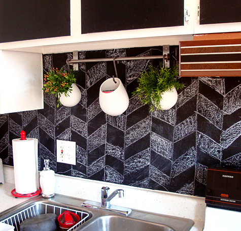 Top 20 diy kitchen backsplash ideas - Utensilios para pintar paredes ...