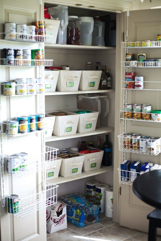 15 stylish pantry organizer ideas for your kitchen for Kitchen organization ideas