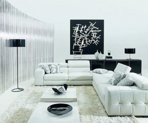 How To Decorate Your Living Room Using Black And White Part 84