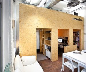 Modern co-working studio by Mode:lina's